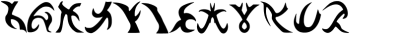 Dingbats,Runes, Elvish