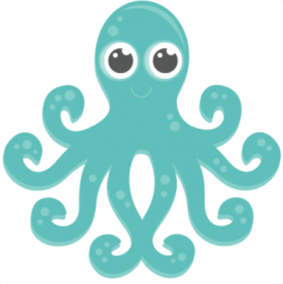 Cute Octopus Transparent PNG
