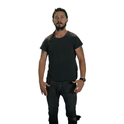 Shia Labeouf Transparent