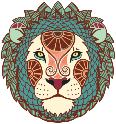 Lion Head Transparent Image