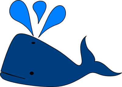 Cute Whale PNG Photos