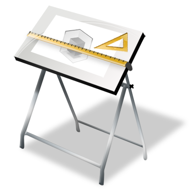 Drawing Board PNG Photo