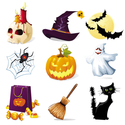 Halloween Elements Download HD Image Free PNG