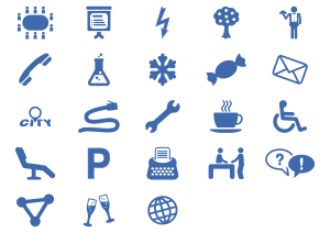 Office Services Icon Set