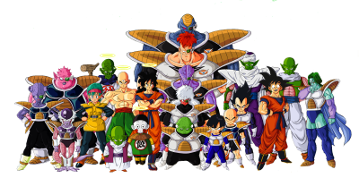 Dragon Ball Z Characters PNG File