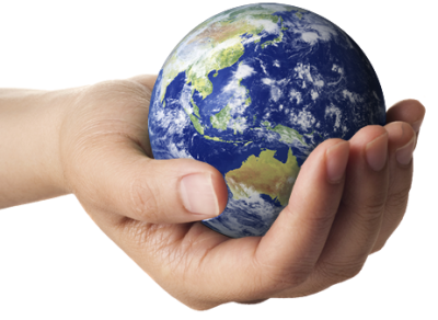 Earth In Hands Free Transparent Image HQ