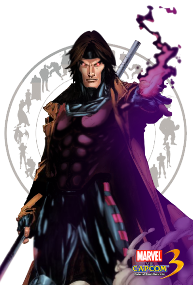 Gambit Transparent Picture