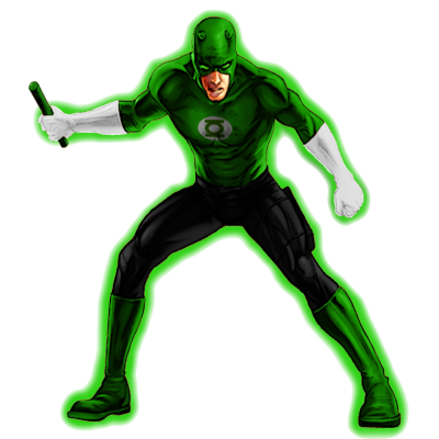 The Green Lantern File