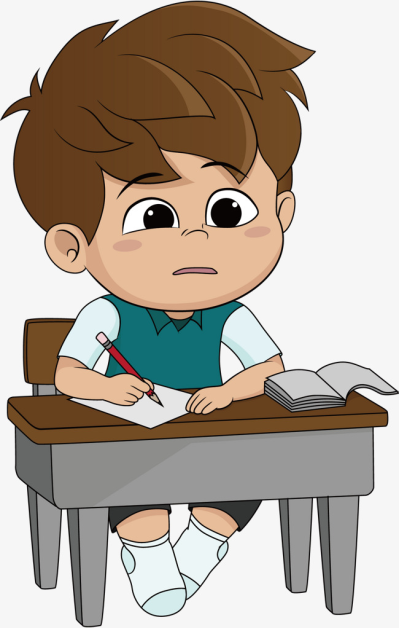 Person Doing Homework Png