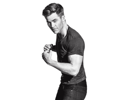 Chris Pine PNG Transparent Image