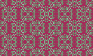 Flourish pattern (colour 2)