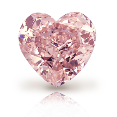 Pink Diamond Heart Photos