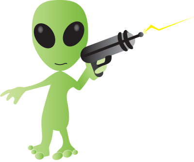 Alien Transparent Background