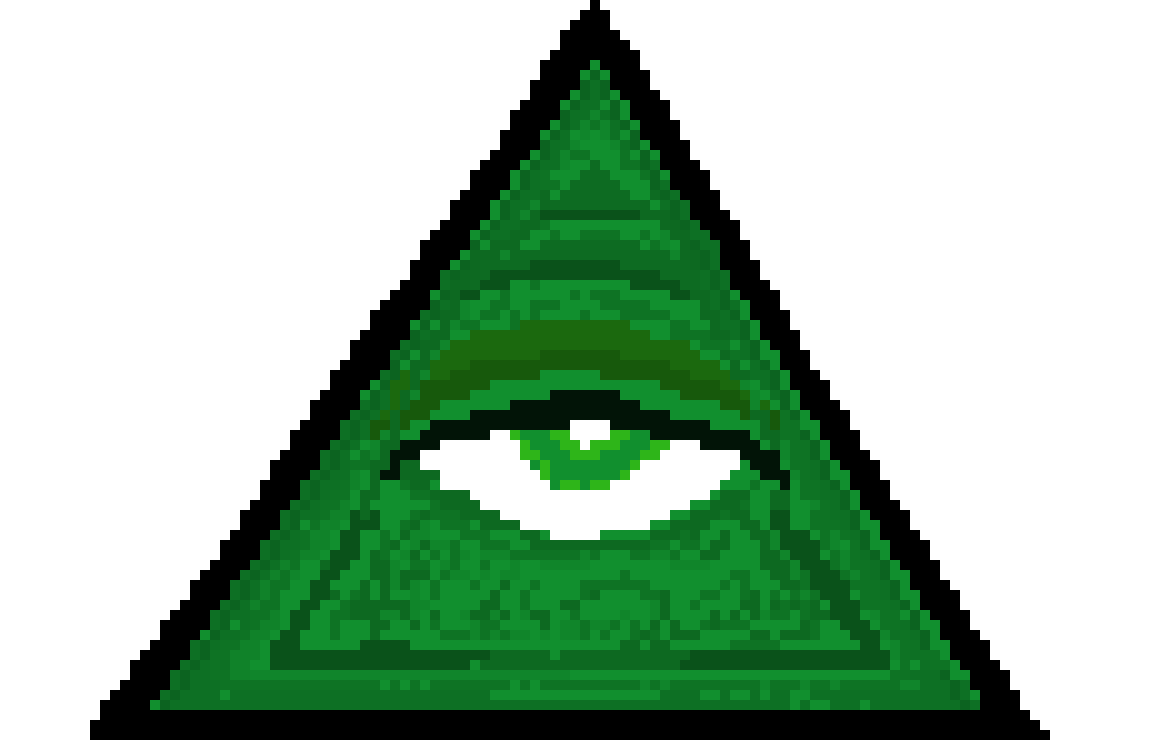 Download Free png illuminati | Pixel Art Maker - DLPNG com
