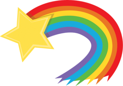 rainbow-shooting-star
