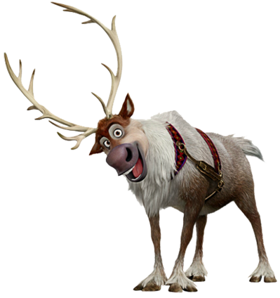 Frozen Sven Transparent