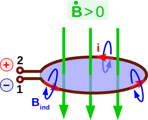 Conductor loop with magnetic field 2