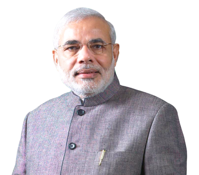Narendra Modi Transparent