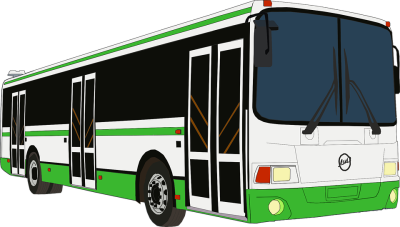 City Bus Image PNG Free Photo