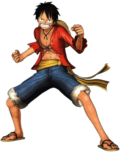 One Piece Luffy Clipart