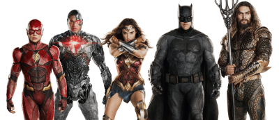 Justice League PNG Transparent Picture