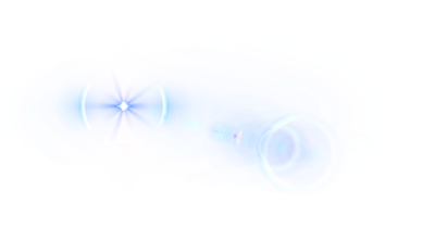 Flare Lens Transparent Background