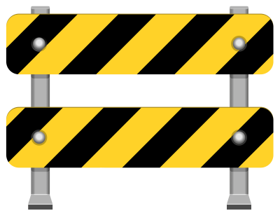 yellow-road-barricade