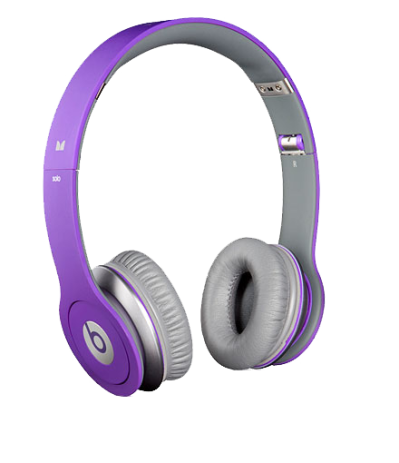 Purple Beats By Dr. Dre Headphones