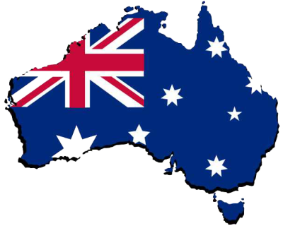 Australia Map Transparent Image