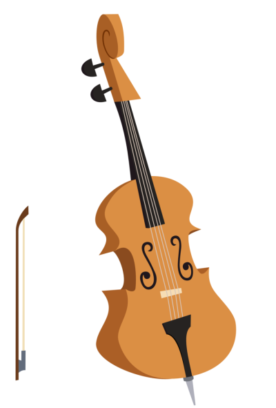 Cello Background PNG