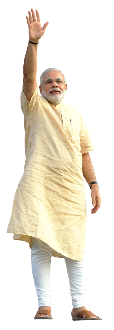 Narendra Modi Transparent Background