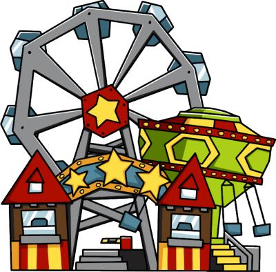 Amusement Park Transparent Background
