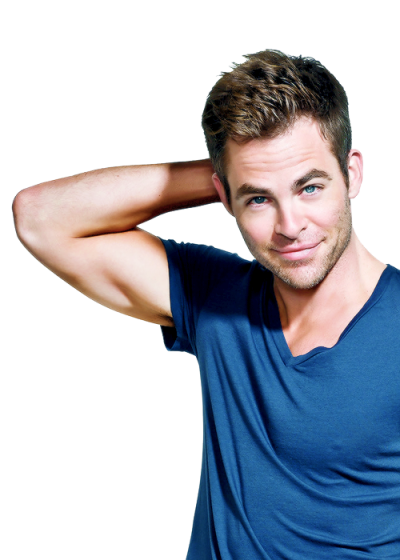 Chris Pine PNG Photo