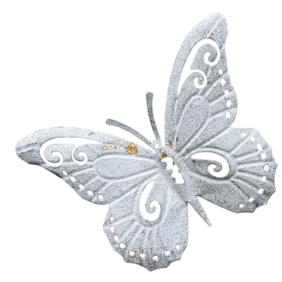 Butterfly Metal Figure Wall · Free image on Pixabay