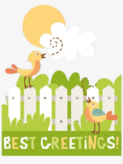 Early Morning Birds Singing, Morning Clipart, Early Morning, Birds ...