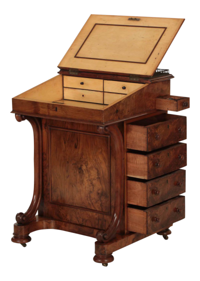Davenport Desk Image PNG File HD