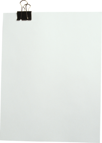 Paper Sheet PNG Transparent Image
