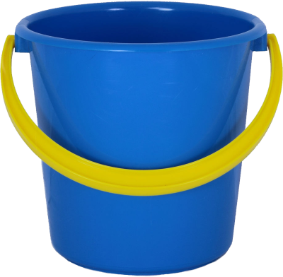 bucket-blue-background-Plastic-transparent