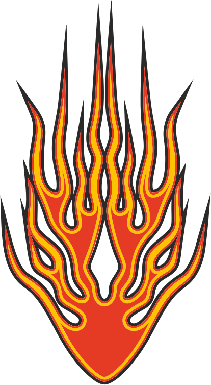 Abstract Flame Clip Art