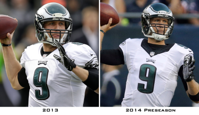 Philadelphia Eagles find it's not easy being green    Uni Watch