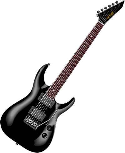 electric-guitar-black
