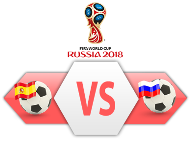 FIFA World Cup 2018 Spain Vs Russia PNG Clipart