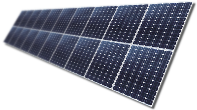 Solar Power System PNG Pic