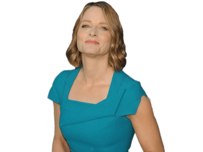 jodie-foster-blue-dress
