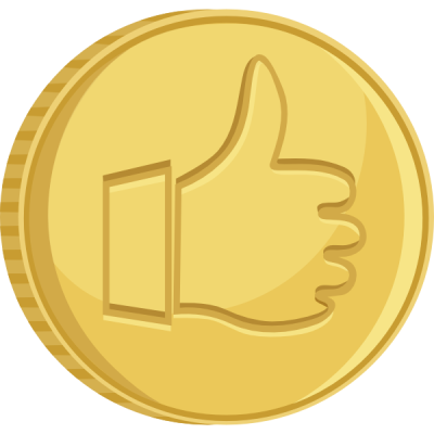 Cartoon Coin Transparent Background