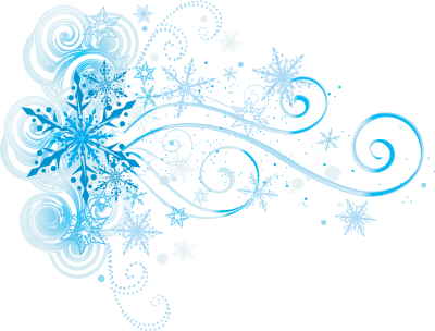 Frozen Snowflake Transparent Background