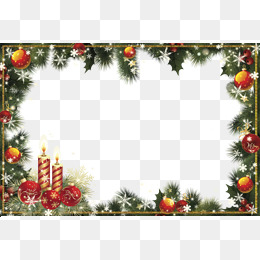 Download Free png Christmas Border Png, Vectors, PSD, and