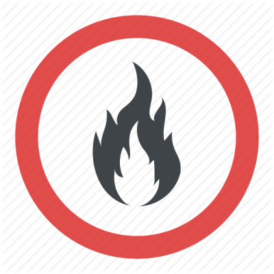 Flammable Sign Free Transparent Image HD