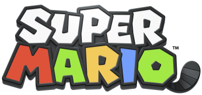 Super Mario Logo Transparent PNG