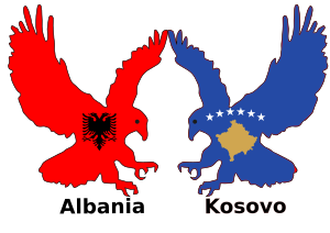 Albania and Kosovo, two eagles